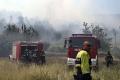 Lesný požiar v Chorvátsku vyvolal explózie mín z čias vojny na Balkáne