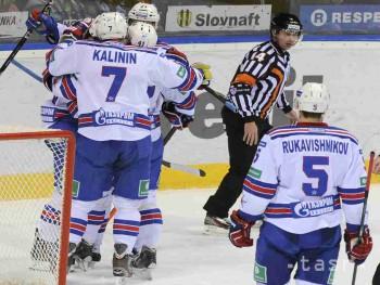 KHL: Petrohrad triumfoval v Jaroslavli a v sérii sa ujal vedenia 3:1