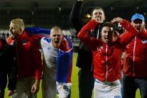 Slováci postúpili na európsky šampionát až na šiesty pokus