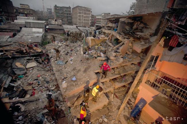 NEŠŤASTIE v NAIROBI: Po záplavách sa zrútila šesťpodlažná budova