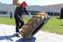 Železný hasič v akcii