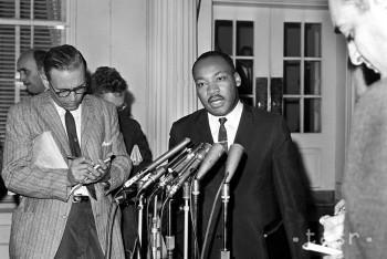 Martin Luther King, Jr. bol vodcom afroamerického hnutia za práva ľudí