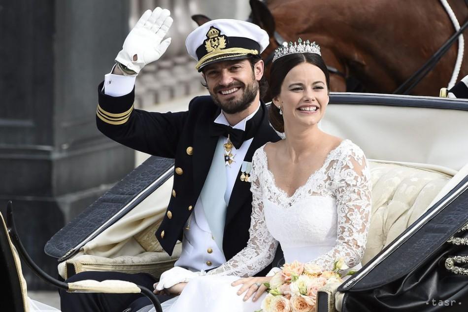 db0c01c49a31 Švédsko má novú princeznú  Princ sa oženil s bývalou modelkou