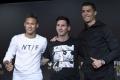 Najlepší hráč sveta podľa FIFA vzíde z tria Ronaldo, Messi, Neymar
