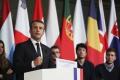 Macron navrhol urobiť európsku intervenčnú jednotku a obranný rozpočet