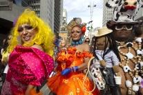 Gay Pride Parade v Sao Paolo v Brazílii