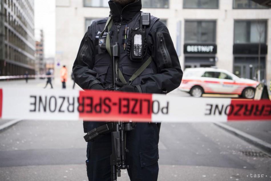 Ozbrojeného muža v Heidelbergu zneškodnila polícia streľbou
