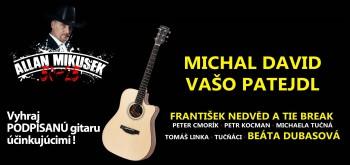 Allan Mikušek oslávi životné jubileum Galakoncertom 50-25+hostia