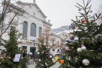 Vianočný Dobrý trh v Bratislave