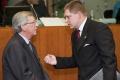 Slovenská vláda bude prvýkrát oficiálne rokovať s členmi exekutívy EÚ