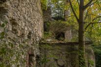 Pozostatky Vančovho domu a mlyna