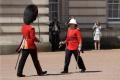 Výmene kráľovskej stráže v Londýne velila po prvý raz žena