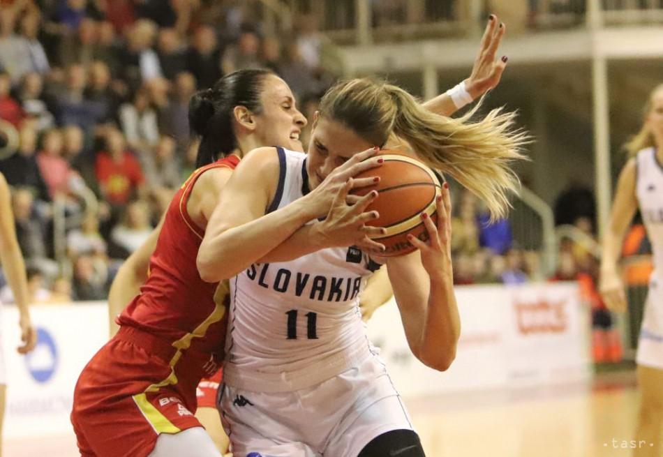 Basketbalistky SR prehrali s Čiernou Horou a nepostúpili na ME d7e7d232faf