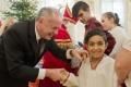 VIDEO:Kiska privítal v Prezidentskom paláci s deťmi z domovov Mikuláša