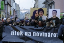 Spomienkový pochod na zavraždeného novinára J. Kuc