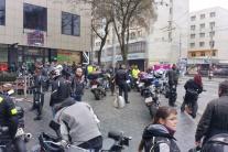 Vianočná jazda motorkárov v Bratislave