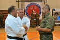 Minister obrany Gajdoš si zatrénoval s inštruktormi boja zblízka