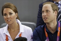 Princ William a Kate fandili na olympiáde