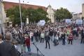 VIDEO: Na proteste Chceme lepšiu krajinu sa zišlo pár stoviek ľudí