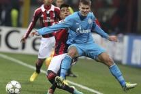 AC Miláno - Zenit Petrohrad