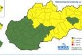 Na juhu stredného a východného Slovenska môže byť až 33 stupňov