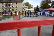 V Bánovciach nad Bebravou sa začalo plošné testova