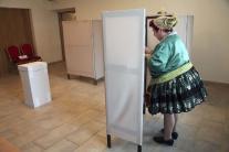 Voľby v obci Iža