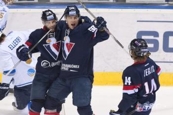 Slovan zdolal Jokerit Helsinky. Říha: Na hráčov som hrdý
