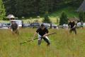 Lúku v Bielovodskej doline pokosili, najrýchlejší boli lesníci z Oravy