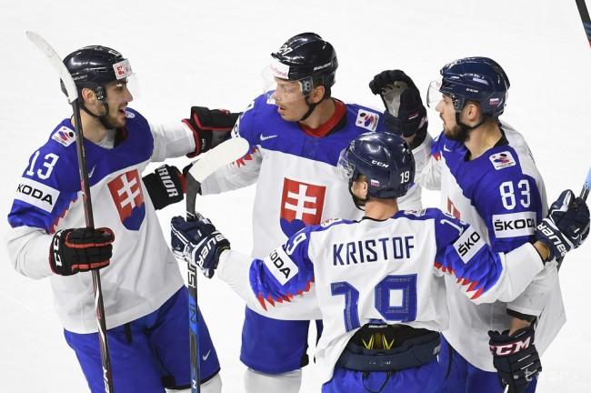 4744f58f8cb79 MS v hokeji 2018: Slovenskí hokejisti zdolali na záver skupiny Bielorusko  7:4 - 24hod.sk