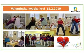 Valentínsku kvapku krvi podporili Mondi SCP a OZ Ružomberčan