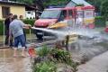 Hasiči v Žilinskom kraji mali pre intenzívny dážď zatiaľ jeden výjazd