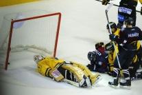 Hokejisti Slovana proti Kuopiu