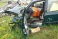 FOTO: Hasiči zasahujú pri nehode v Haniske: Je zranených päť ľudí