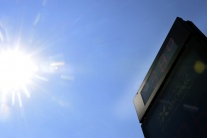 Horúčavy v Bratislave