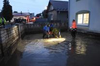 Obce na Spiši zasiahli prívalové povodne