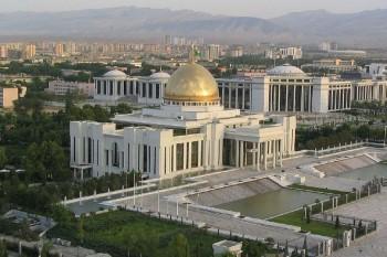 Ašchabad má najviac budov z mramoru na svete