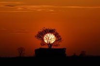 Aj takýto môže byť západ slnka