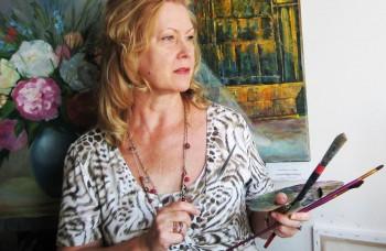 Ruská maliarka tvorí na Slovensku, jej obrazy poznajú po celom svete