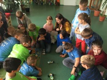 Ľubica: Deti zo ZŠ si vyskúšali naprogramovať vlastného robota