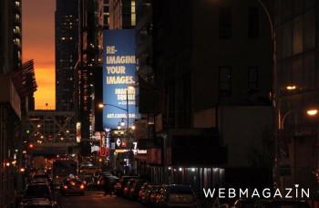 Manhattanhenge: New York zaplavia slnečné lúče