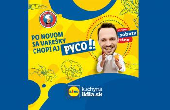 Novou tvárou v Kuchyni Lidla sa stal PYCO