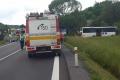 VIDEO: Zrážka kamiónu a autobusu pri Krupine: Jedna obeť, 9 zranených