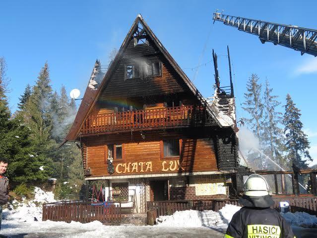 V Oraviciach horela chata, kde boli ubytované deti