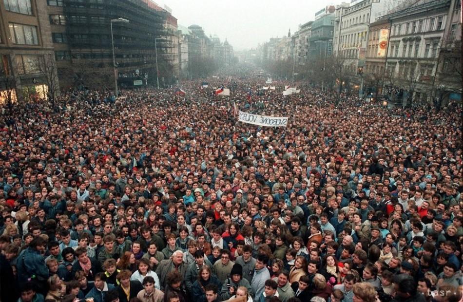 Výsledok vyhľadávania obrázkov pre dopyt 27 november 1989 generalny štrajk