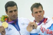 Michal Martikán je bronzový