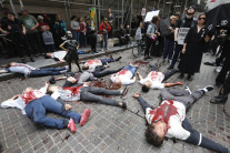 Klimatický protest v New Yorku
