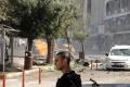 Pri výbuchu nálože nastraženej v taxíku v Sýrii zahynulo päť ľudí