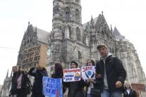 Klimatický štrajk v Košiciach