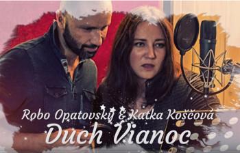 Robo Opatovský a Katarína Koščová nahrali pieseň Duch Vianoc